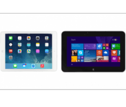 Compare iPad with Windows tablets